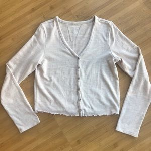 American Eagle Soft and Sexy plush cardigan